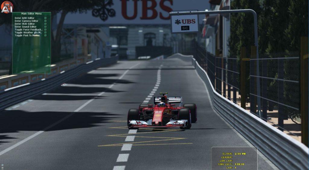 DX11 SPS Racing F1 2017 @ Montecarlo
