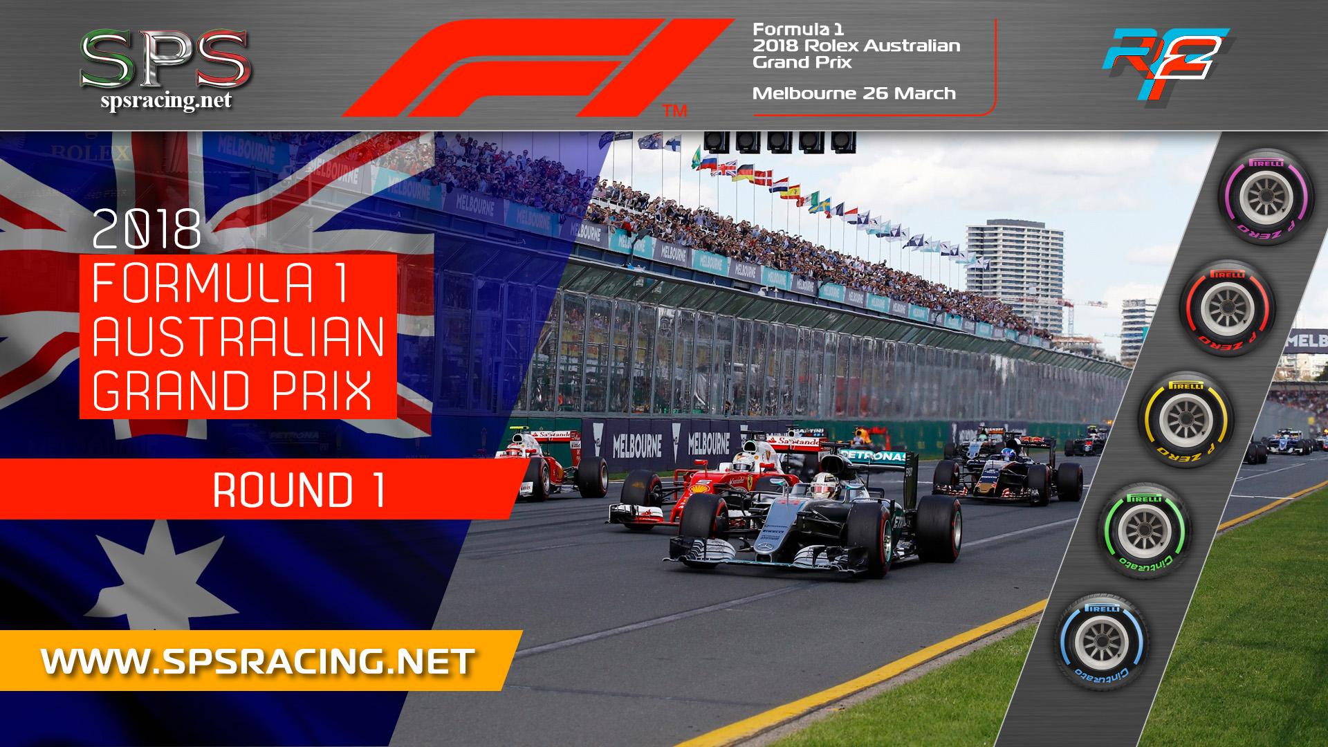 Round 01 - Australian GP