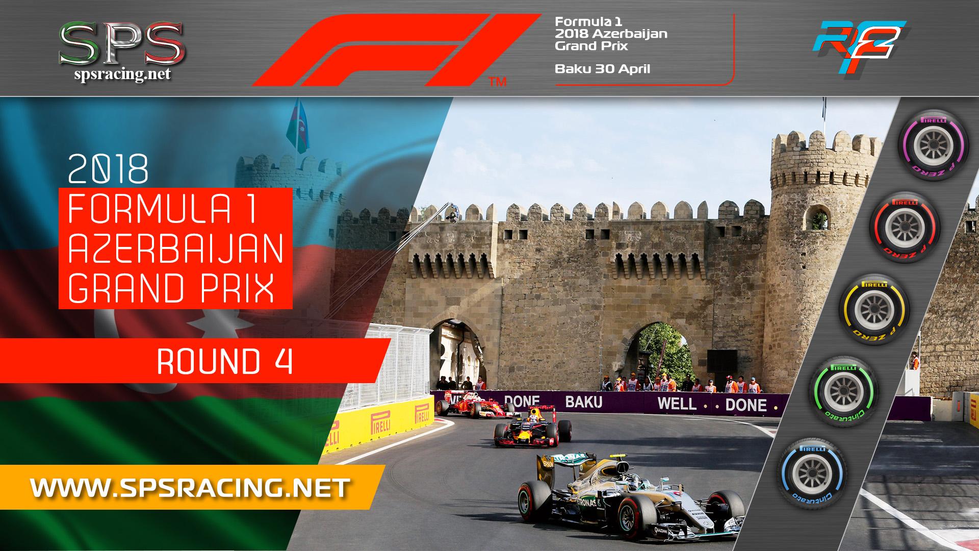 Round 04 - Azerbaijan GP 2018