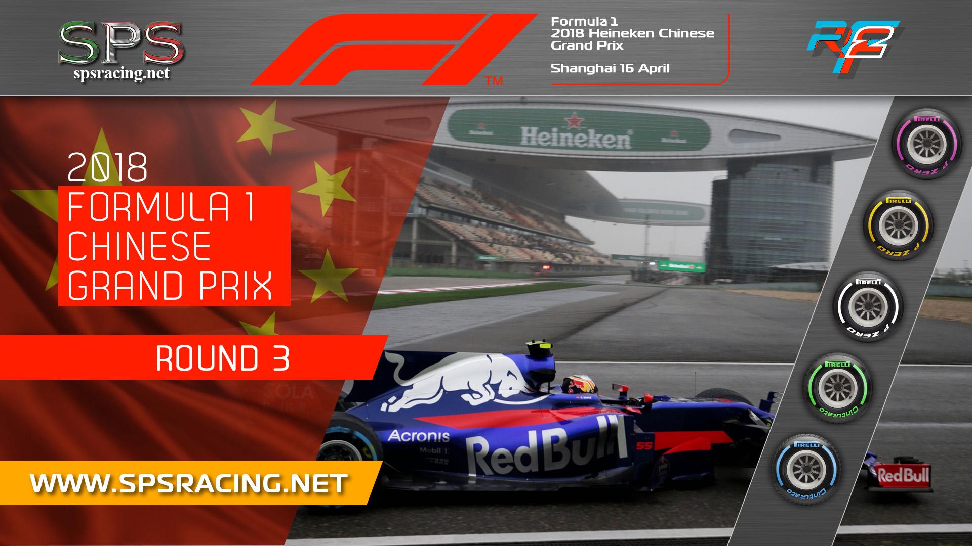 Round 03 - Chinese GP 2018