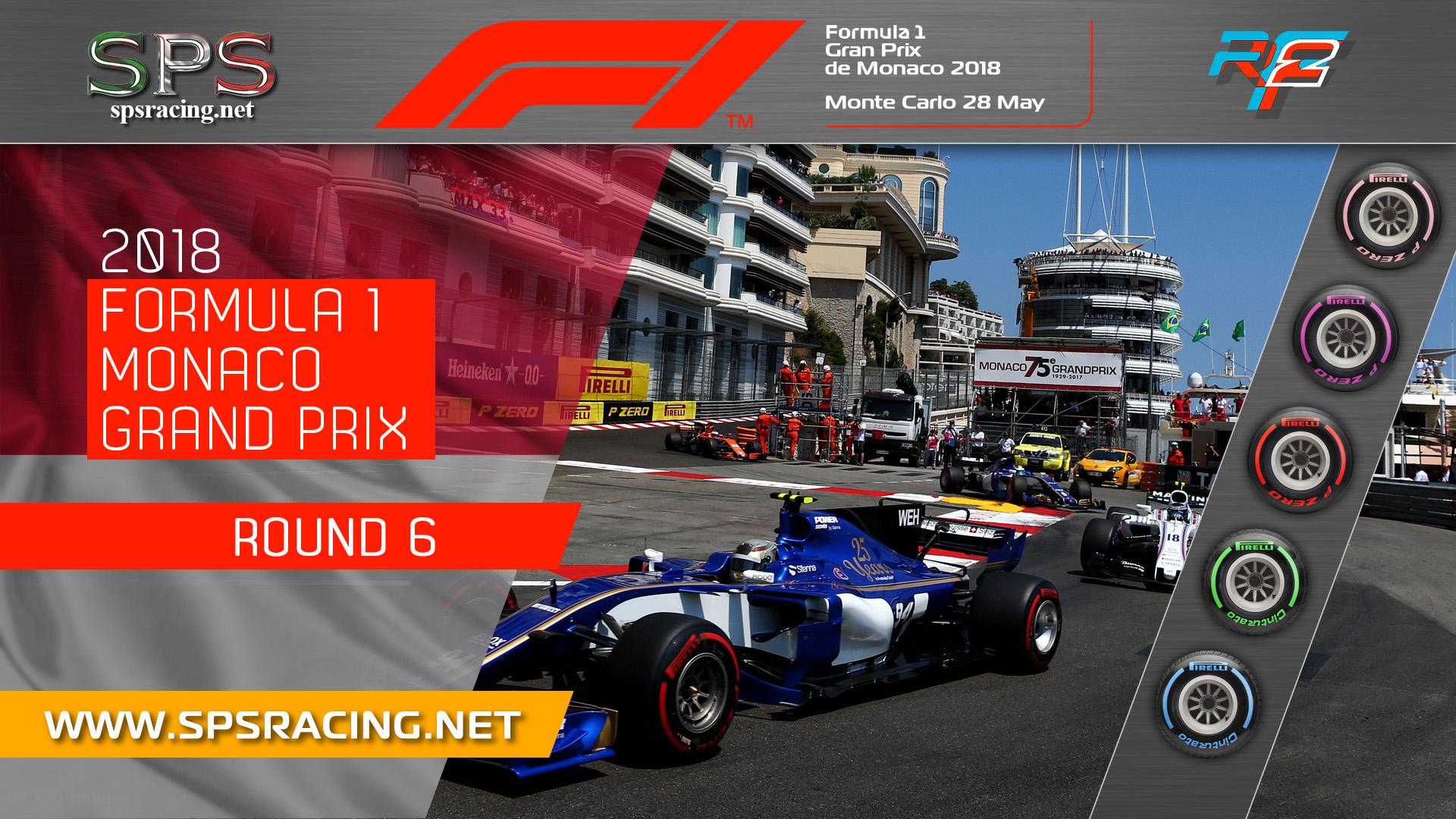 Round 06 - Monaco GP 2018