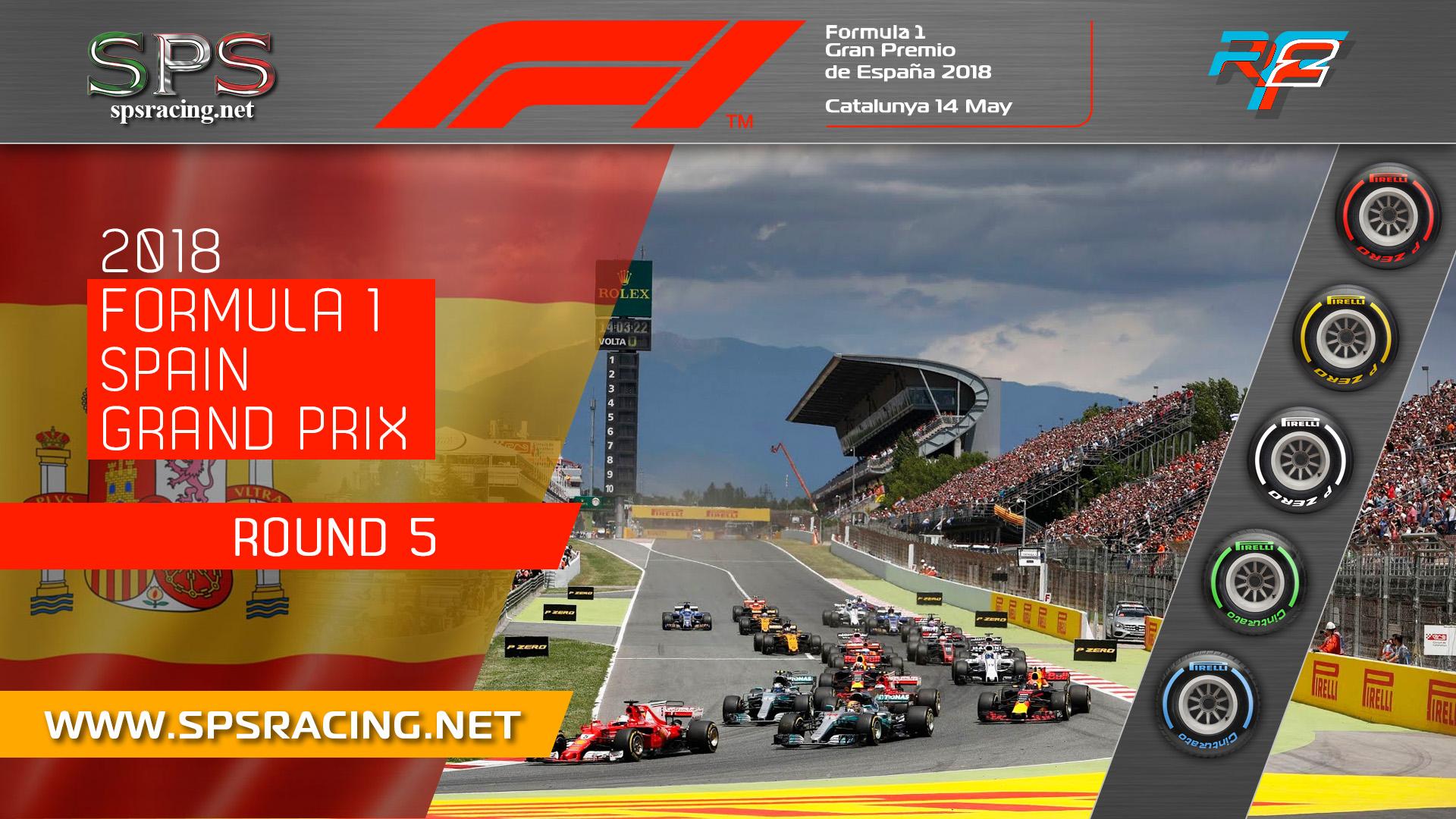 Round 05 - Spanish GP 2018